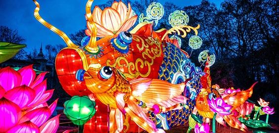 China Light Festival Köln Zoo 2021
